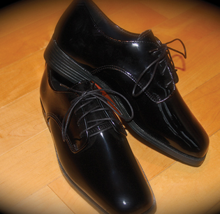 Lord West Black Shoe
