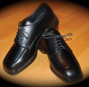 Lord West Matte Black Shoe