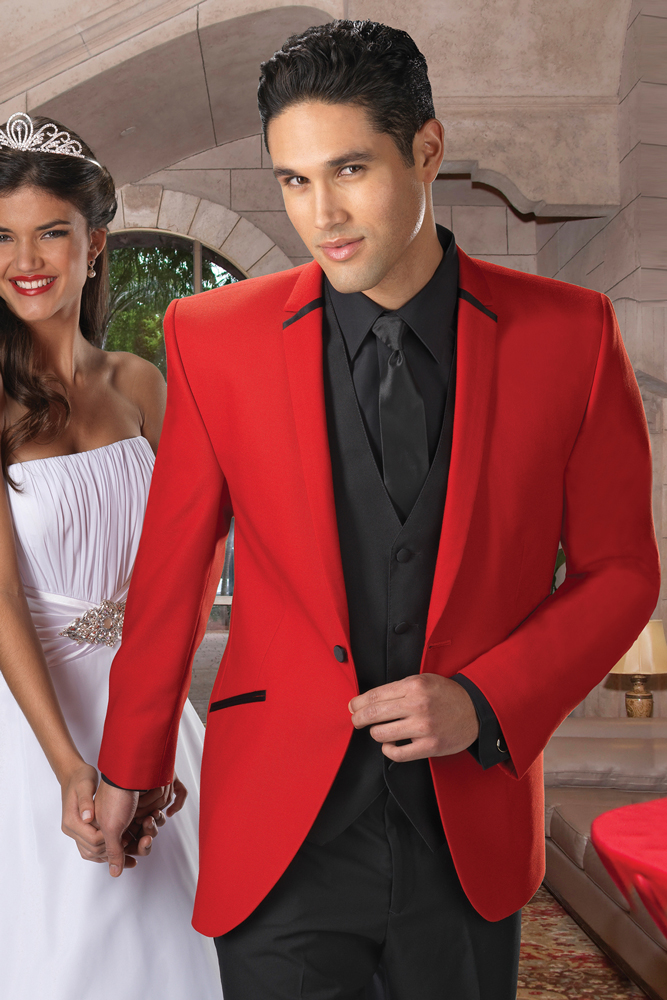 Jean Yves Red Illusion - Marty\'s Formalwear